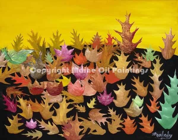 Fallen Leaves - $1500